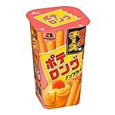 森永製菓  ポテロング<明太チーズ味>  43g×10個