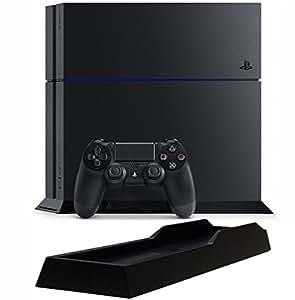 PlayStation 4 ジェット・ブラック 1TB (CUH-1200BB01)【Amazon.co.jp限定】特典アンサー PS4用縦置きスタンド付