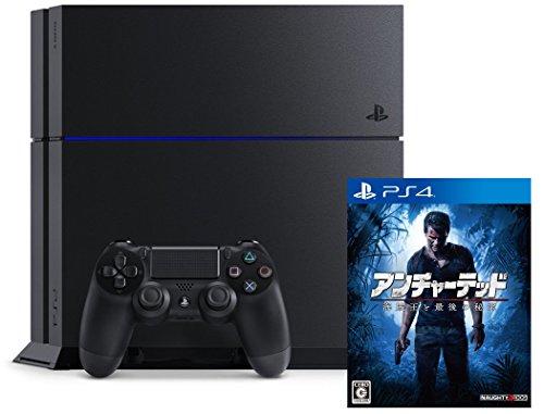 PlayStation 4 ジェット・ブラック (CUH-1200AB01)+アンチャーテッド 海賊王と最後の秘宝(通常版)