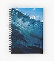 Wave Crest スパイラルノート 罫線紙