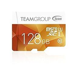 Team Micro SDHC SDXC UHS-1 COLOR CARDシリーズ 10年保証(128GB)