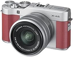 FUJIFILM ミラーレス一眼 X-A5レンズキット ピンク X-A5LK-P A Amazonベーシッククーポン付