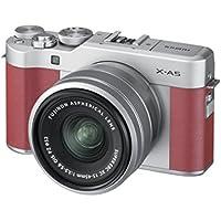 FUJIFILM ミラーレス一眼カメラ X-A5レンズキット ピンク X-A5LK-P