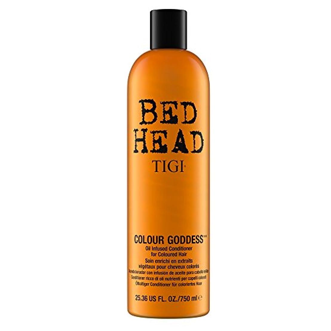 書く阻害する老人ティジー Bed Head Colour Goddess Oil Infused Conditioner (For Coloured Hair) 750ml [海外直送品]