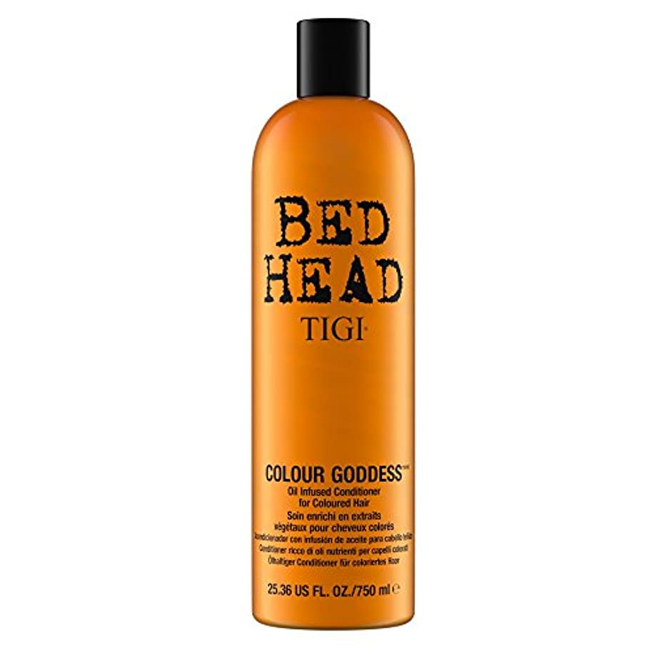 マネージャードットお金ゴムティジー Bed Head Colour Goddess Oil Infused Conditioner (For Coloured Hair) 750ml [海外直送品]