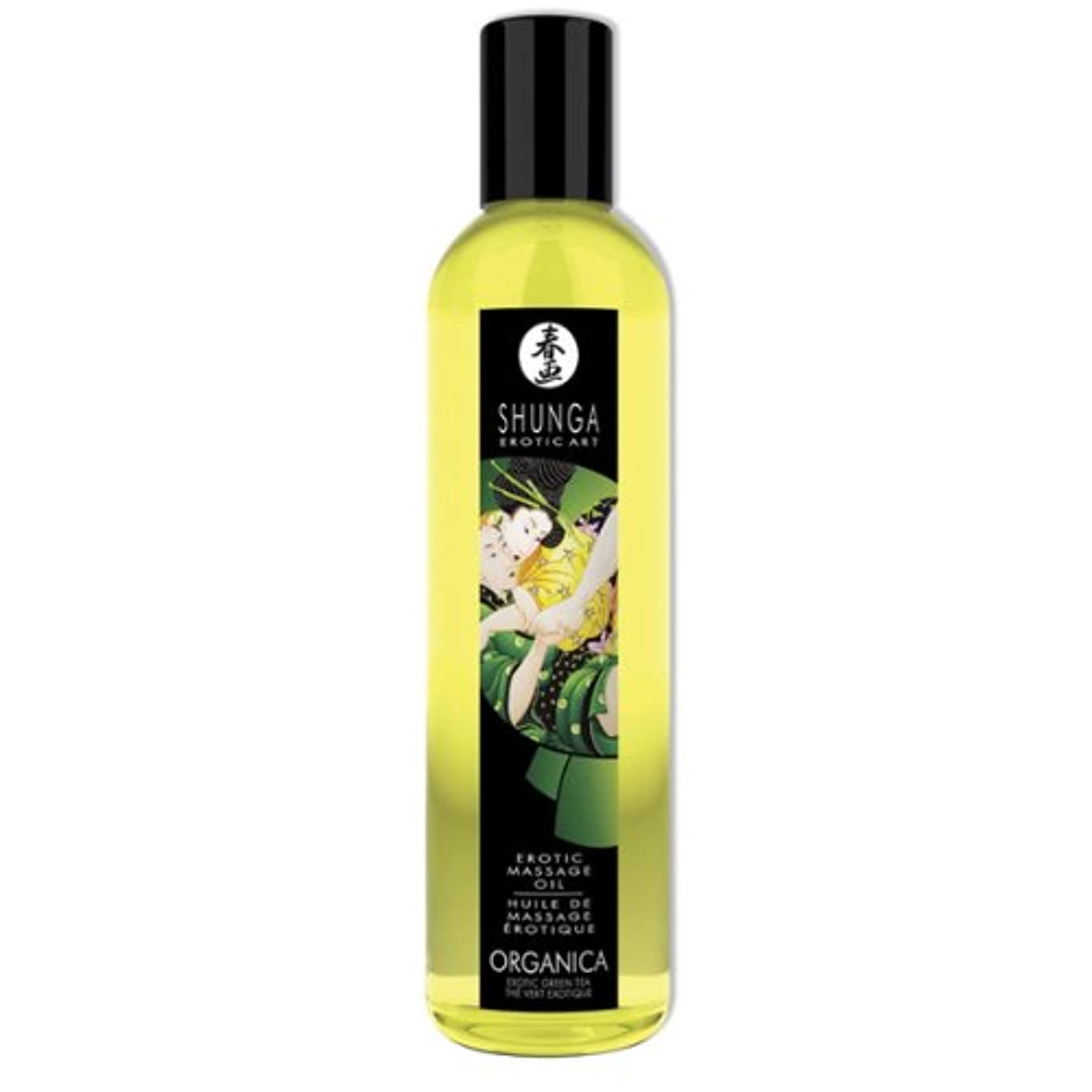 サリー複雑でない付録Shunga MASSAGE OIL ORGANICA 250ml direct from abroad