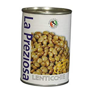 ラ・プレッツィオーザ レンズ豆(レンティル) 400g×24個