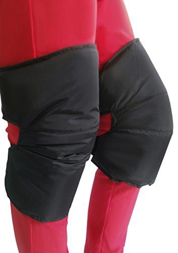 レッグウォーマー オートバイ 膝サポーター 保温 膝プロテク...