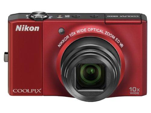 Nikon デジタルカメラ COOLPIX (クールピクス) S8000 フラッシュレッド S8000RD