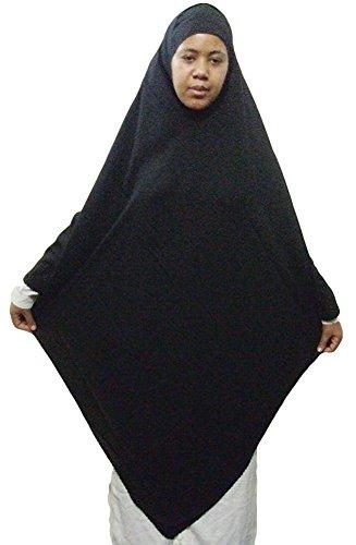 Islamicイスラム教徒三角形Khimar Hijab HejabアバヤNiqab JilbabベールEidイスラム教57?