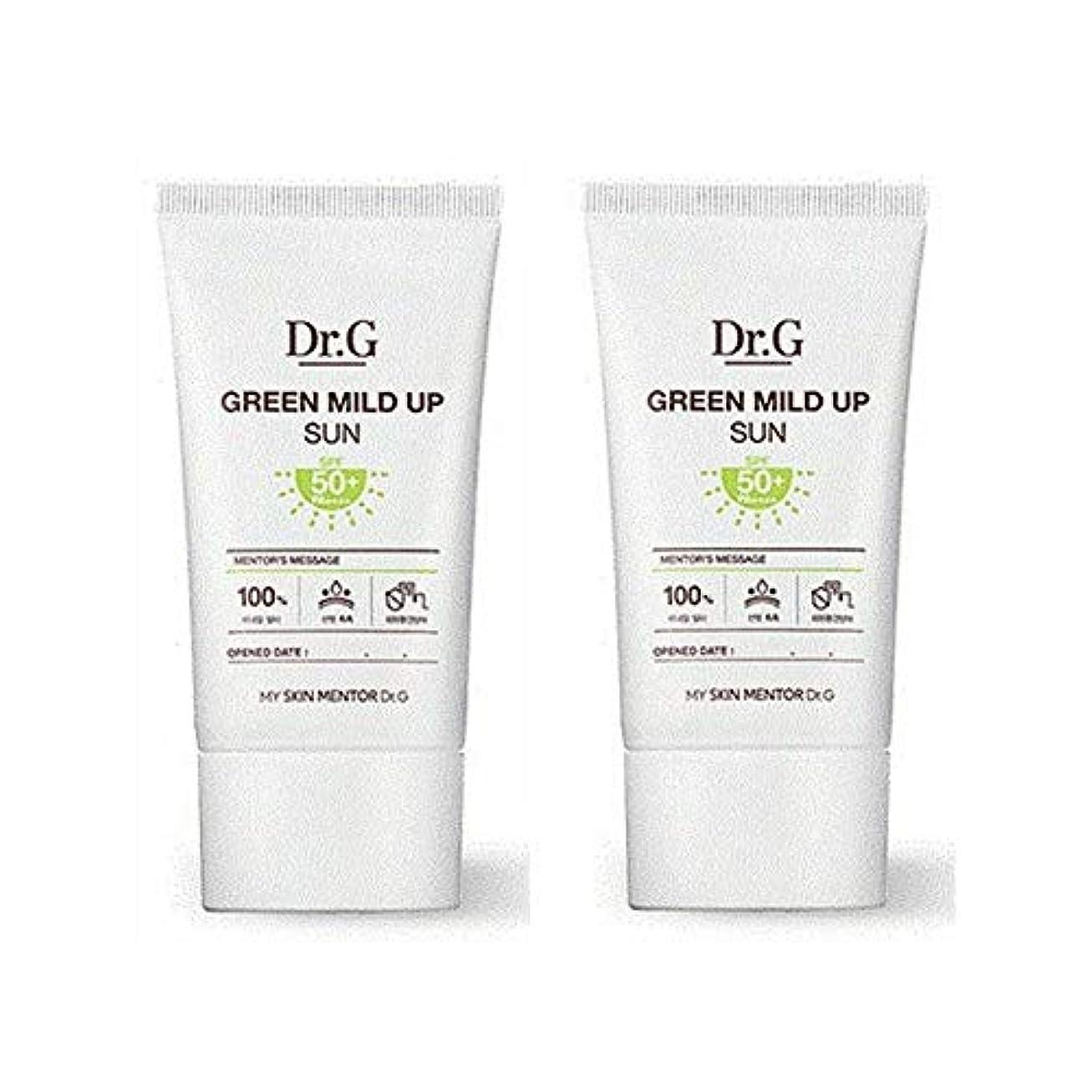 ピンク記憶目を覚ますダクトジ(Dr. G) のグリーンマイルドアップサンクリーム(SPF50+/PA++++)50ml、Dr.G Green Mild Up Sun Cream(SPF50+/PA++++)50ml [並行輸入品]