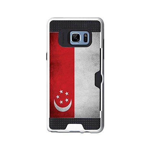 iPhone 7 Plus / アイフォン 7 プラス 対応 ケース NationalFlag2 Bumper 国旗 ボリューム2 バンパー ケース スマホ カバー SGP / シンガポール