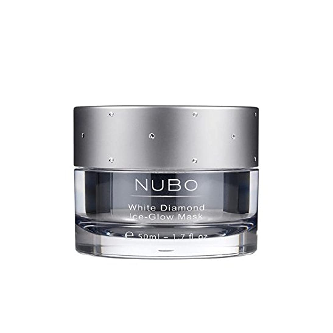 彼らは偉業共同選択Nubo White Diamond Ice Glow Mask 50ml (Pack of 6) - 白いダイヤモンドの氷のグローマスク50ミリリットル x6 [並行輸入品]