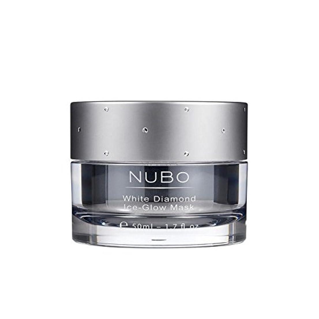 Nubo White Diamond Ice Glow Mask 50ml - 白いダイヤモンドの氷のグローマスク50ミリリットル [並行輸入品]