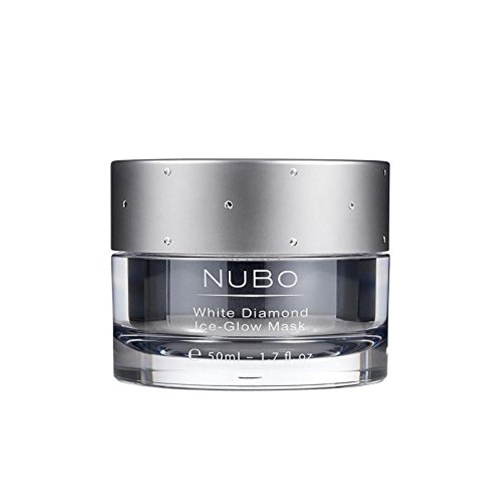 うんざり溶かす腐食するNubo White Diamond Ice Glow Mask 50ml (Pack of 6) - 白いダイヤモンドの氷のグローマスク50ミリリットル x6 [並行輸入品]
