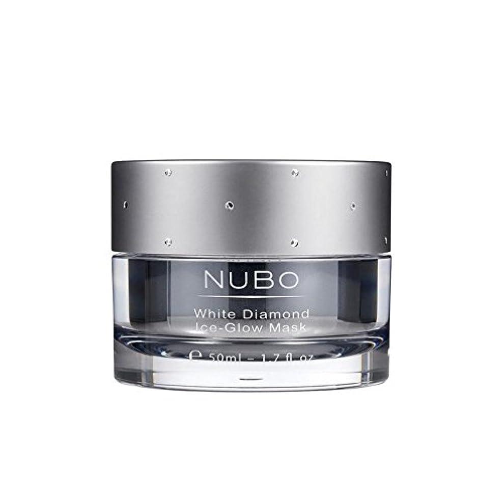 必要とする解く相手Nubo White Diamond Ice Glow Mask 50ml (Pack of 6) - 白いダイヤモンドの氷のグローマスク50ミリリットル x6 [並行輸入品]