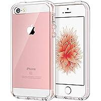 JEDirect iPhone SE 5 5s ケース バンパー 衝撃吸収 傷つけ防止 (クリア)