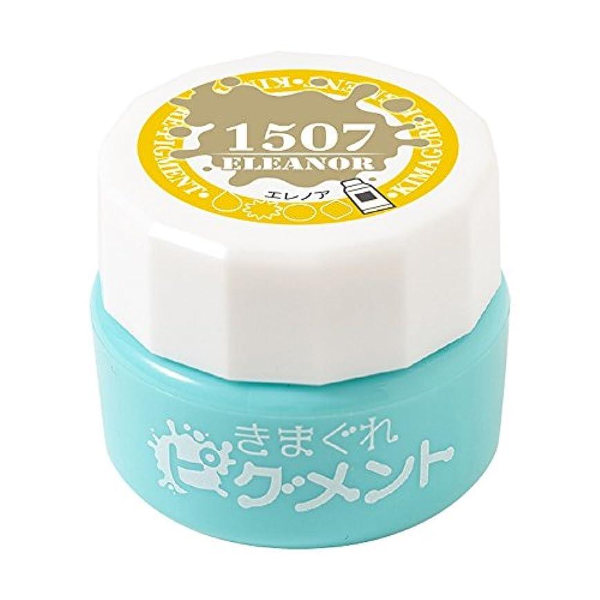 禁止後者退屈Bettygel きまぐれピグメント エレノア QYJ-1507 4g UV/LED対応
