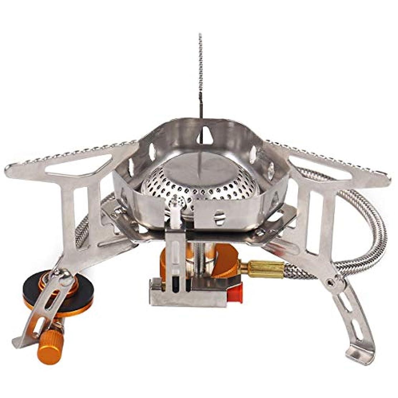 聴覚障害者直面する矩形TOOGOO 防風 アウトドア用のガスバーナー キャンプ用のストーブ ライター 観光用装置 キッチンのシリンダー プロパン グリル