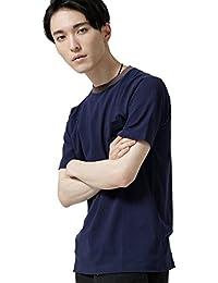 (ナノ・ユニバース) nano・universe 衿配色リブTシャツ 6688124530