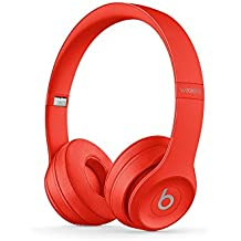 Beats Solo3 Wireless On-Ear Headphones Base Small Citrus Red
