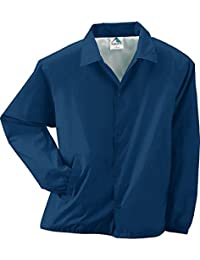 Augusta Sportswearコーチのジャケット3100 (XL、ネイビー)