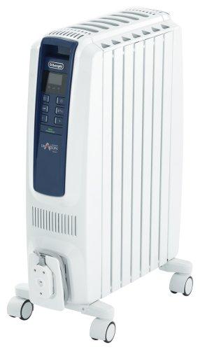 デロンギ オイルヒーター ドラゴンデジタル スマート X字型フィン7枚 3~8畳用 QSD0712-MB