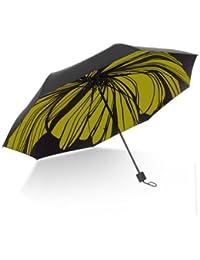イエローOriginalityパラソルブラック傘スーパーストロング日焼け保護雨傘