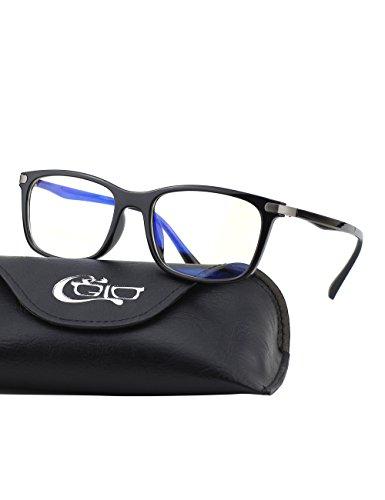 CGID C46 TR90 コンピュータ眼鏡 軽量 柔軟破壊...