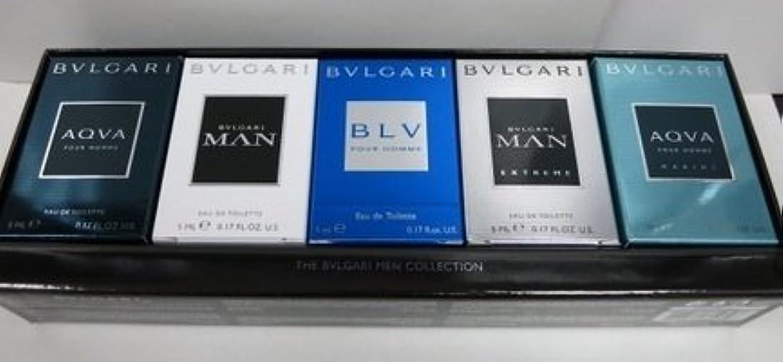 技術人生を作る誘発するブルガリ トラベルコレクション、メンズ ミニチュア コレクション 5本セット