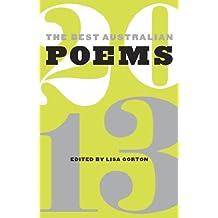 The Best Australian Poems 2013