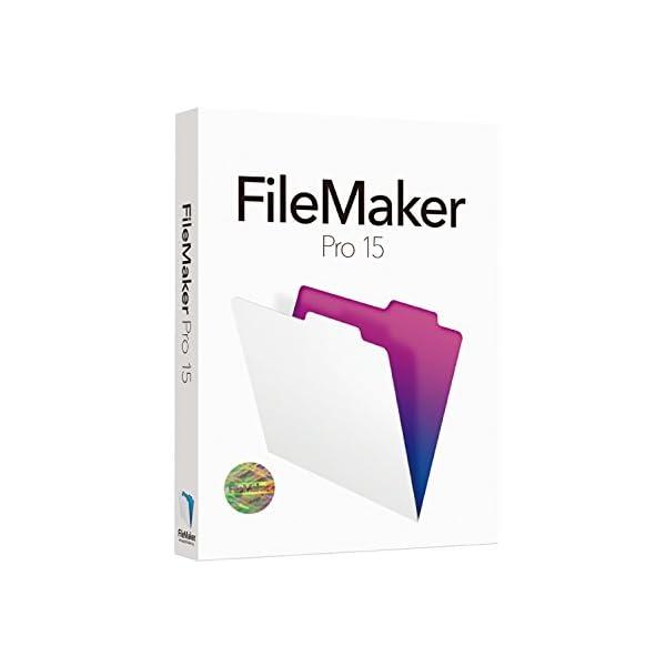 FileMaker Pro 15 Single ...の商品画像