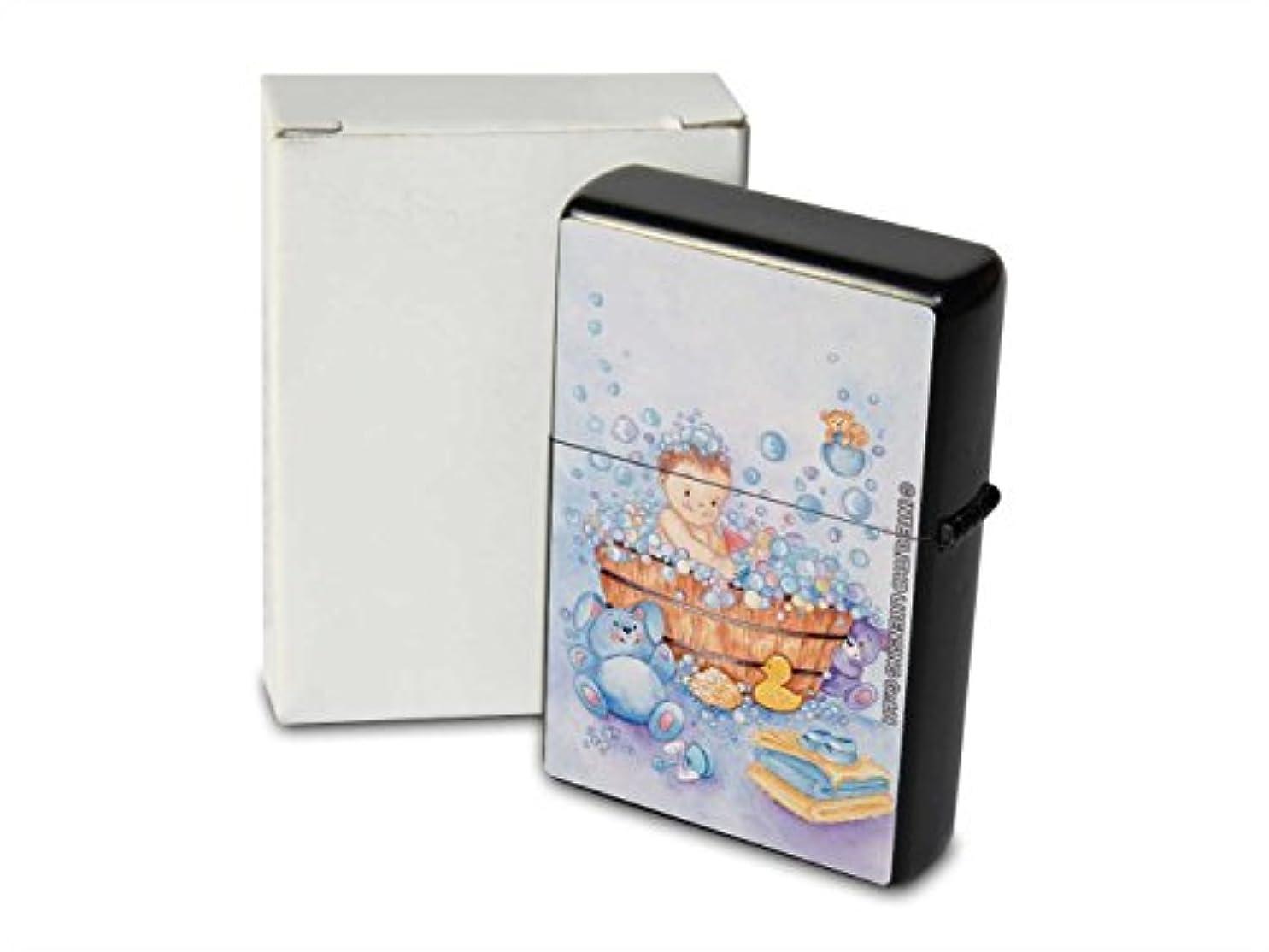 アーティキュレーションクラブグラフPetrol lighter ライター Printed child soapy bath duck