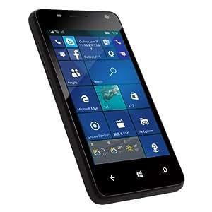 geanee Windows Phone 4インチ ブラック WPJ40-10-BK