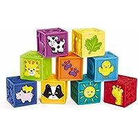 Earlyears Squeak 'n Stack Blocks Baby Toy by Earlyears