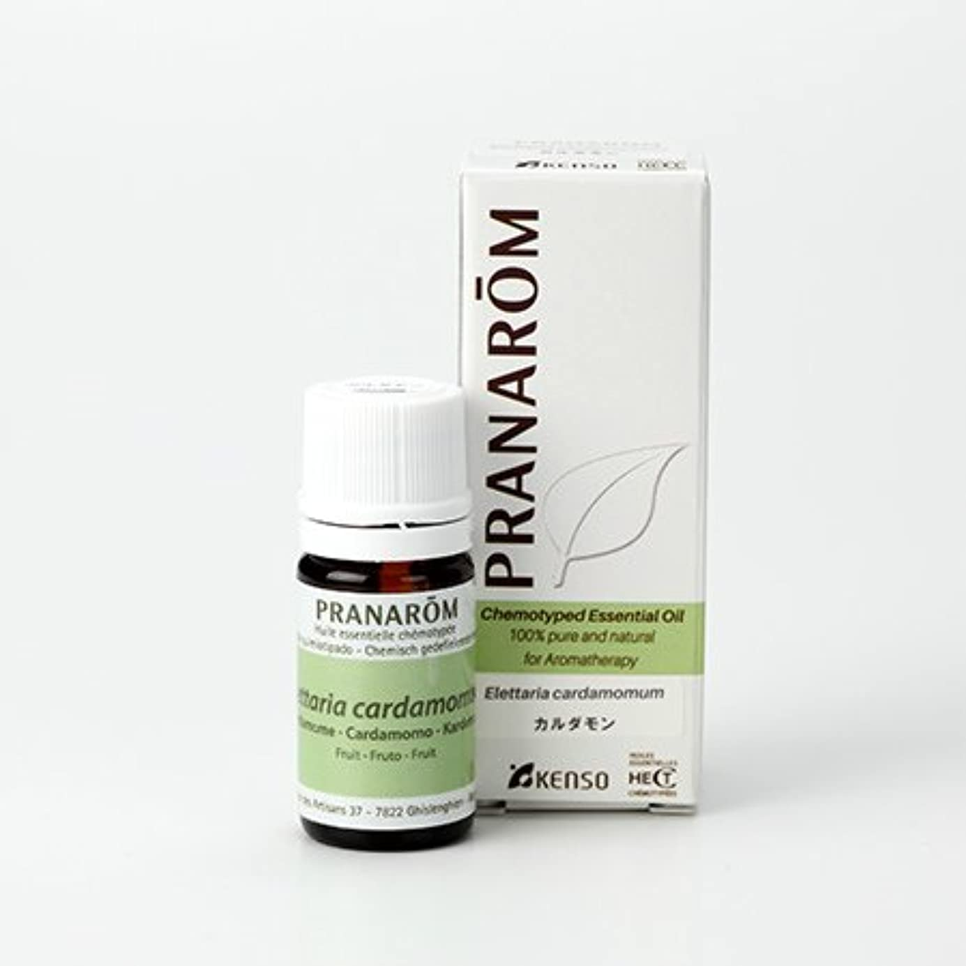 銀河名誉ある頬骨プラナロム カルダモン 5ml (PRANAROM ケモタイプ精油)