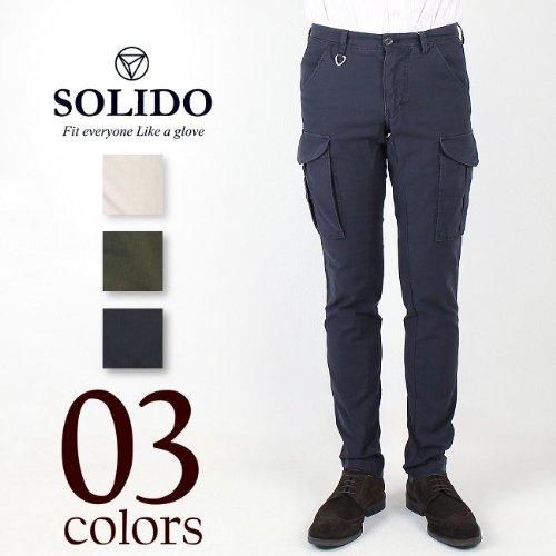 FLASSINO MEN'S CARGO PANTSフラシノ メンズ カーゴパンツ MSL12S544 (3color) ソリード