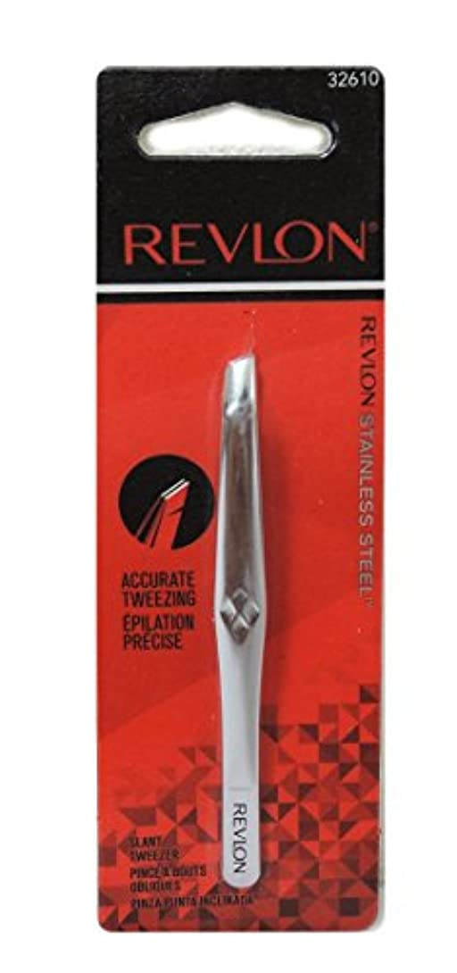 オフセットあいまい強制的Revlon (レブロン) アキュレート ツイーザー(毛抜き)(model32610)   [並行輸入品]