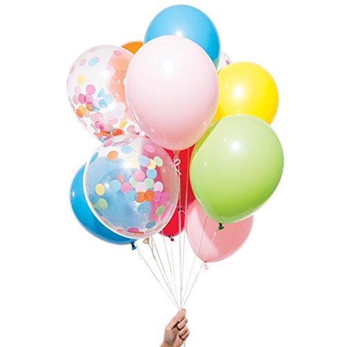 スパイス レインボー ミックス パーティー バルーンズ Rainbow Mix Party Balloons PB12-AS