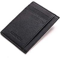 Minimalist Slim Leather Wallet Pocket Card Holder Purse