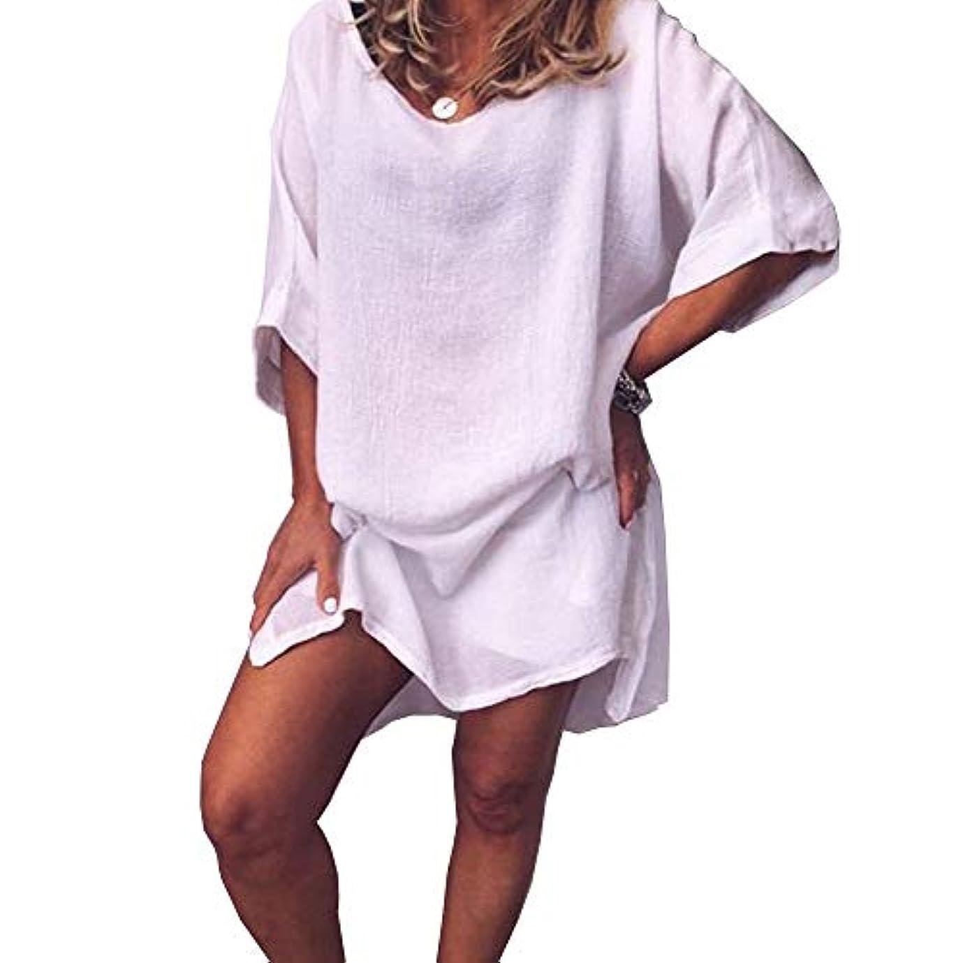 悪魔誓い却下するMIFAN サマードレス、ビーチドレス、ルーズドレス、プラスサイズ、リネンドレス、トップス&ブラウス、女性ドレス、カジュアルドレス