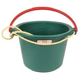 緑長 プロ用建材容器 強靭バケツ ミニ 5L 5型 グリーン