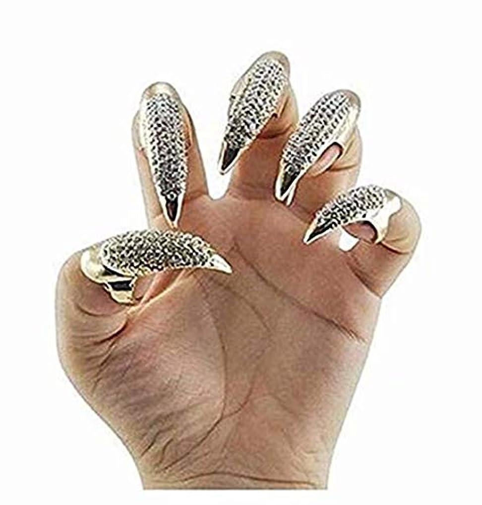 鋸歯状酸度賛辞七里の香 クリスタルリングカラープレイパーティーパンクロックスタイル 1PC