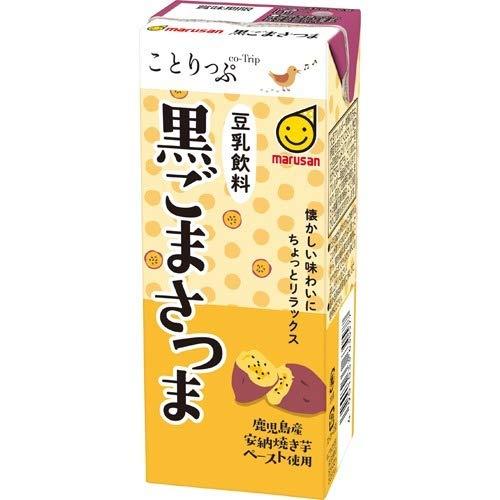 ことりっぷ 豆乳飲料 黒ごまさつま(200mL*12本入) ...