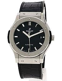 [ウブロ]クラシックフュージョン チタニウム 腕時計 チタン/アリゲーターラバー メンズ (中古)