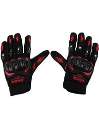 k-outdoor バイクグローブ オートバイ 手袋 すべり止め 耐衝撃 通気性 耐用性 サイクリング/釣り/登山/アウトドア