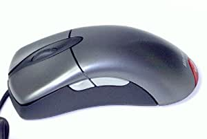 マイクロソフト - IntelliMouse Explorer 3.0 Optical Mouse - Silver/Black