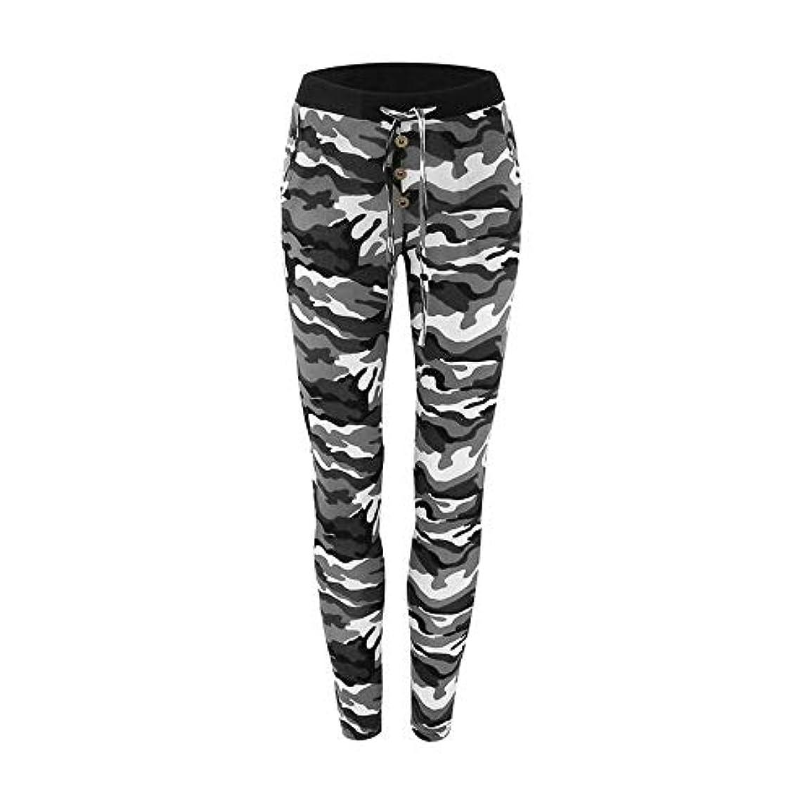 窒息させるペレットふくろうMIFAN 迷彩レギンス、スキニーパンツ、ヨガパンツ、スリムフィット、ズボン、レギンス、迷彩パンツ