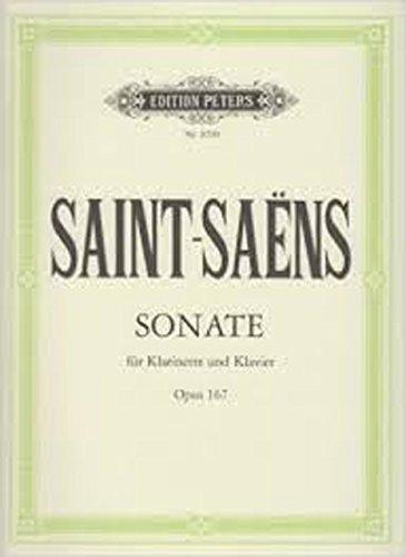 サン・サーンス: クラリネット・ソナタ Op.167/ペータ...