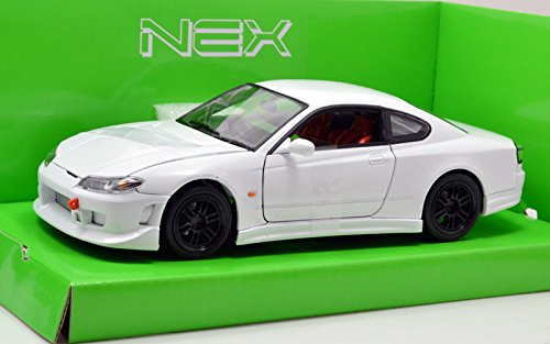 """WELLY 1:24SCALE """"NISSAN S-15"""" WHITE ウィリー 1:24スケール 「日産 S-15」 ホワイト [並行輸入品]"""